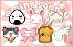 7 Kawaii Hair-Clip Designs by TomodachiIsland