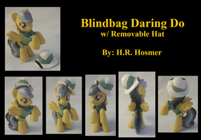 Daring Do Blindbag with Removable Hat by Gryphyn-Bloodheart