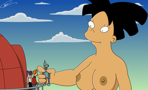 Futurama - Gigantic Grab UNCENSORED by Spider-Matt
