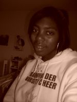 me with cheerleading hoddie by Notebook-Queen