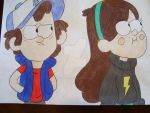 Mystery Twins by AJLeefan4life