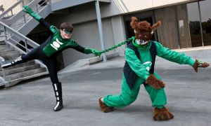 Green Lantern Puppy Training by Bluebird0020