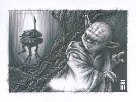 Probot on Dagobah - Preliminary Thumbnail by Erik-Maell