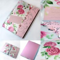Rose notebook by SweetCandyDreams