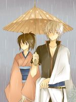 Gintama - Under the Umbrella by kim57n