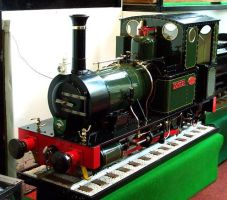 5 inch gauge Dolgoch model by cooldude7208