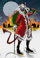 HAPPY XMAS FROM EVIL SANTA by TheGreatGod