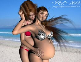 Double Trouble II by PreggoBellyLover