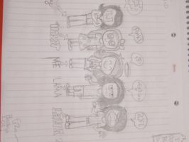 chibi us 'me+my friends' by Mrmr-Hearts-Every1