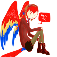 Ask Scarlet Macaw by AskScarletMacaw