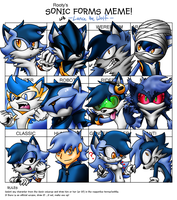 Sonic Forms Meme - Lance the Wolf by LancerWolf13