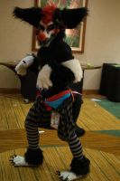 My clown fursuit! by Deep-Fried-Flinch