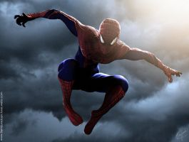 Amazing Spiderman 3D By: Felipe Fierro by FelipeFierro
