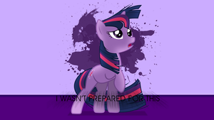 I WASN'T PREPARED FOR THIS - Twilight Wallpaper by Juakakoki
