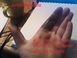 Artist Problems #1 by sniffies