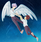 Evangelion | Fly me to the Moon by kenketsu