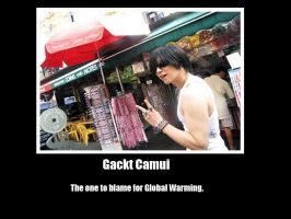Another Gackt Poster by bebapr