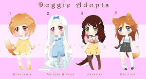 Doggie Adopts - CLOSED by Neko-Rina