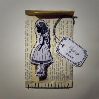 Wind-Up Suzie - Brooche by PaperTales