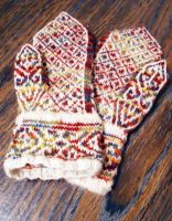 Scandinavian Mitts (Front) by tejadesigns
