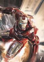 Iron Man Study by ISignRob