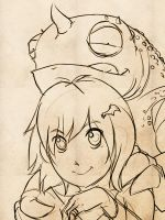 Lizard Girl WIP by Windam