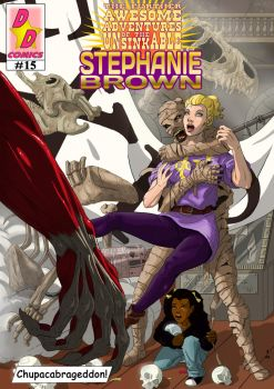 Steph Brown Adventures cover #15 by Chickfighter