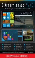 Omnimo 5.0 for Rainmeter [MIRROR] by fediaFedia