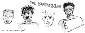 Dr. Horrible sketches by rashaka