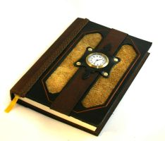 Golden Clock Journal by McGovernArts
