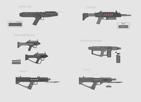 Redone Weapons and Stinger SMG by Artmarcus