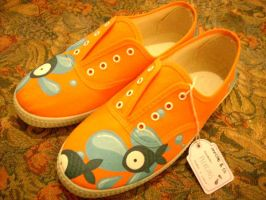 Shoes - Fishy by invictas-shoes