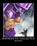 Batman vs Galactus 1 by RavenT2