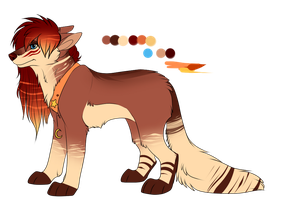 adoptable auction fire/autumn theme CLOSED by Searii