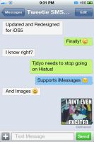 Preview - Tweetie SMS iOS5 by Tjdyo