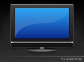 Flat Screen TV by Maverick18x