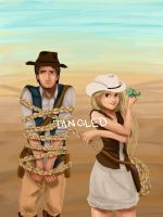 Tangled- Western by Panda-Ink