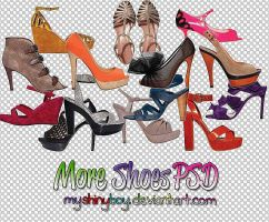 More Shoes PSD by MyShinyBoy