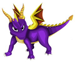 Spyro by bluexbabex1o7