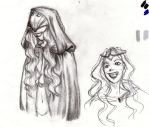 Aibhil sketch-character study by A-Border