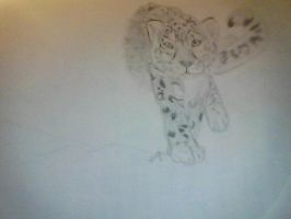 WIP Snow Leopard by ZakSaturday2468