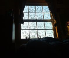 My Dorm Room Window by ZiaReN