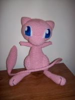 Mew Amigurumi The Second by DarkWater9
