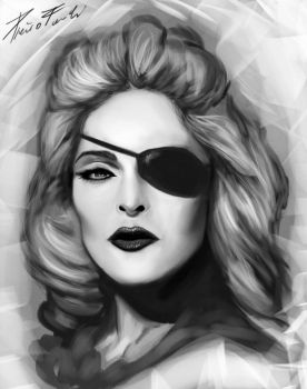 Madonna by reapier