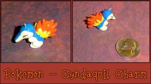 Pokemon - Cyndaquil Charm by YellerCrakka
