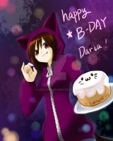 .:Happy B-DAY to Daria:. by linyuenj