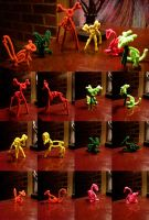 Pipe Cleaner Creatures by Eleeveen