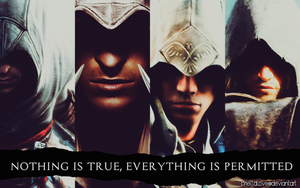 Assassin's Creed Wallpaper by BriellaLove