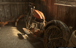 Old Motorcycle by slographic