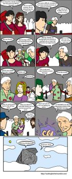 Maximoff Family: Airport by magickmaker